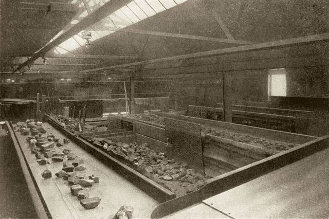Church Gresley Colliery, no. 1 pit screens