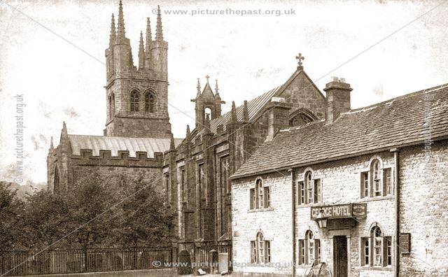 George Hotel and St John's Church