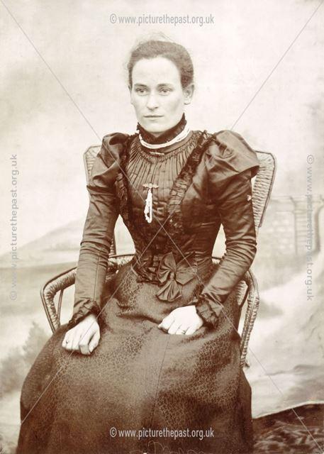 Auntie Libbie, Newton, c 1895