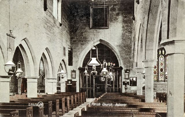 Interior of Ashover Parish Church