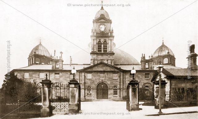 Exterior of Devonshire Hospital