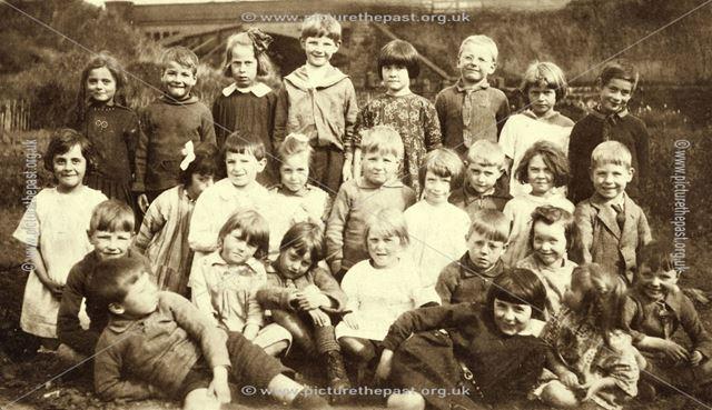 Waley Bridge School Class