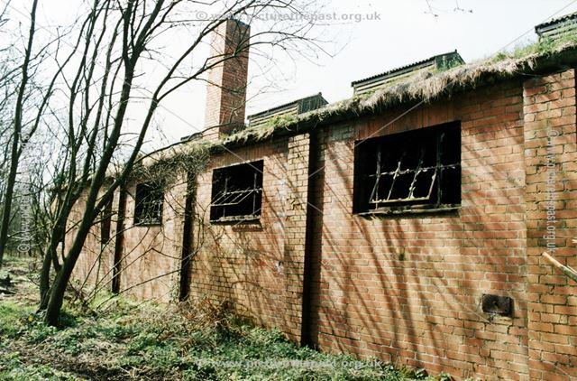Remnants of the Old Quarry Engine Sheds