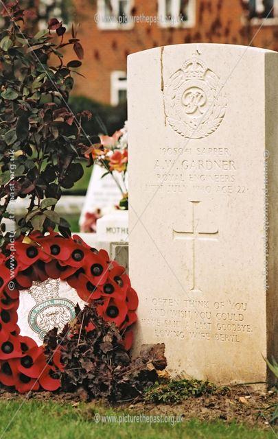 Graves of Royal Engineer