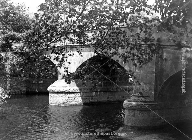 Bridge over the River Manifold, Ilam.