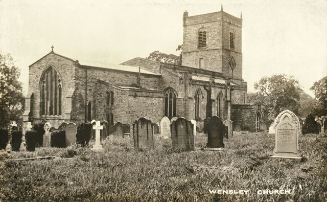 Wensley Church, Low Lane, Wensley, North Yorkshire, c 1900