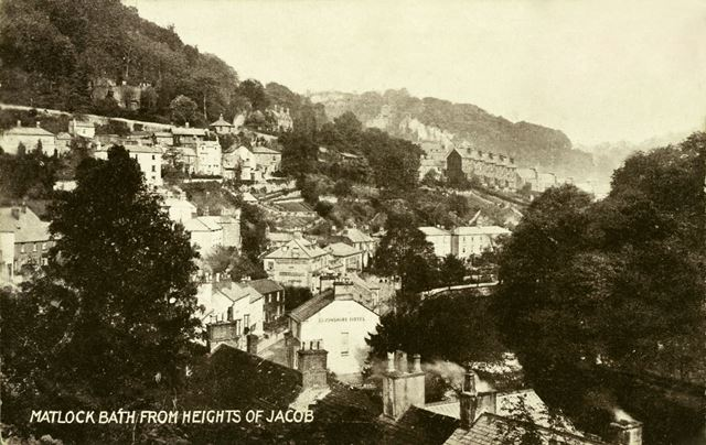 Matlock Bath from the Heights of Jacob