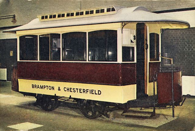 Brampton and Chesterfield horse tram