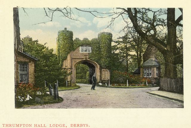Thrumpton Hall Lodge, Thrumpton Hall, Thrumpton, c 1909