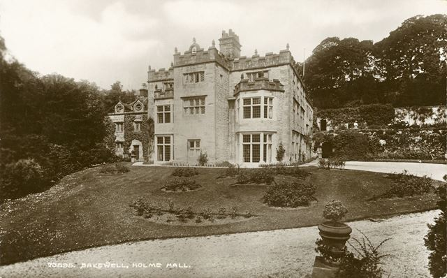 Holme Hall, Holme Lane, Bakewell, c 1926