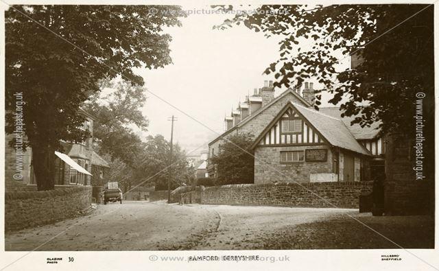The Derwent Hotel, Main Street, Bamford, c 1920