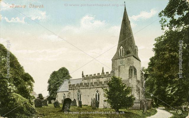 The Parish Church of St Anne, Baslow.