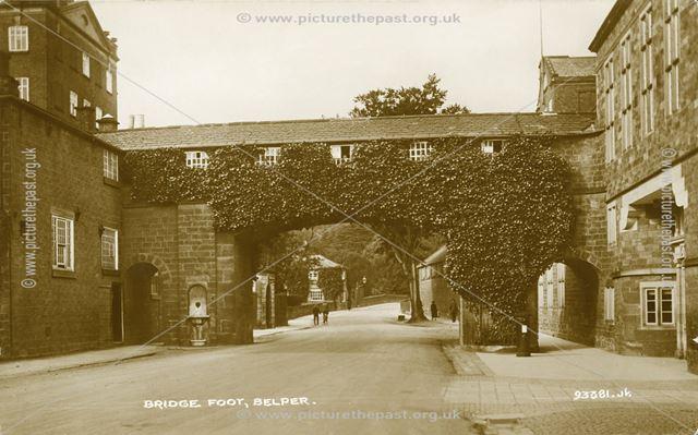 Belper Mill Gangway over Bridge Foot