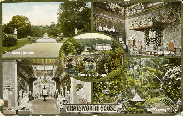 5 views of Chatsworth House