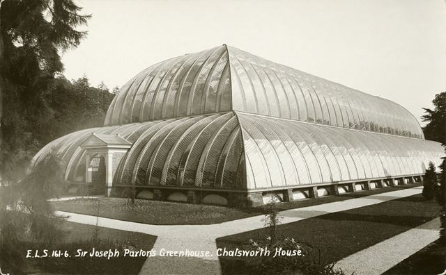 Sir Joseph Paxton's Greenhouse - Chatsworth House gardens