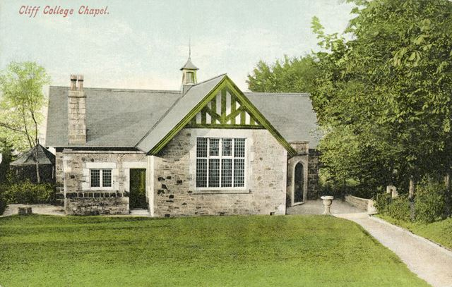 Cliff College Chapel, Calver