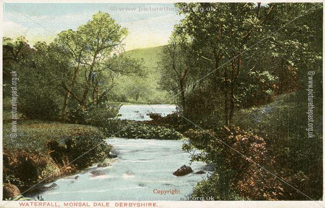 Waterfall, Monsal Dale