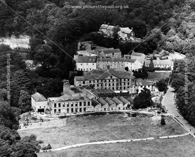 Cressbrook Mill before restoration