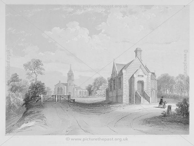 Church and School House, Boylestone