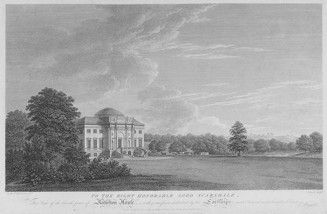 South Front of Kedleston House, Derbyshire