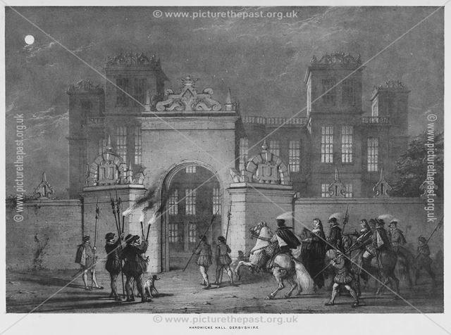 Hardwicke Hall, Derbyshire, 1840