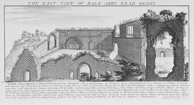 The Village, Dale Abbey, 1727