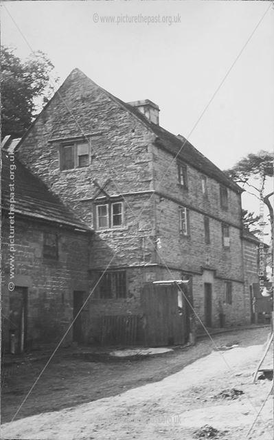 Broomhill Farmhouse before restoration