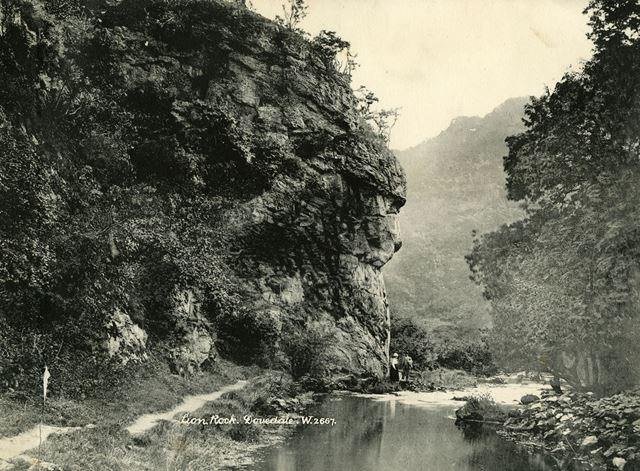 The Lion Rock, Dovedale