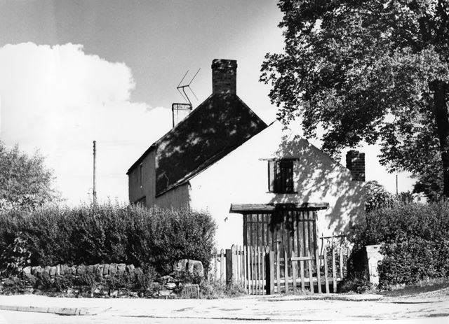 The former Wheelwright's cottage, Four Lane Ends, Oakerthorpe