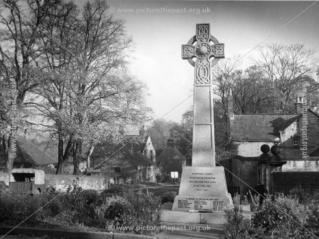 The War Memorial, Eckington