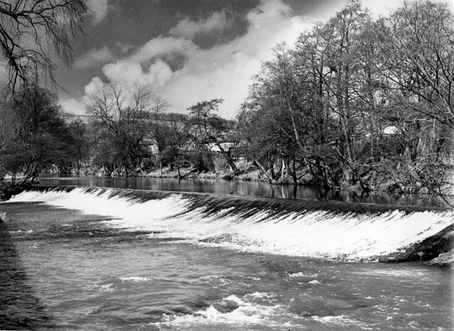 Bubnell weir (downstream of Chapel Mill) Baslow