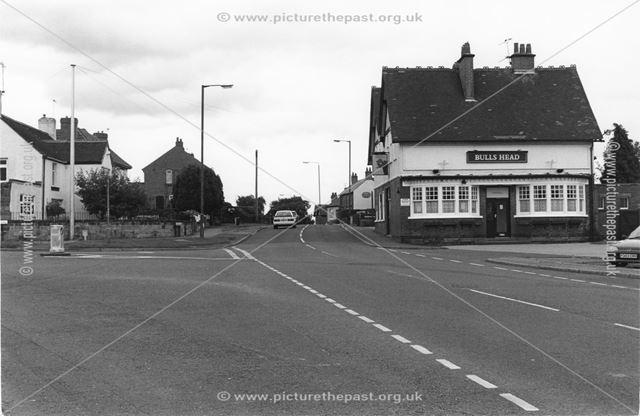 The Bulls Head, Kilburn Road, Openwoodgate, 2000