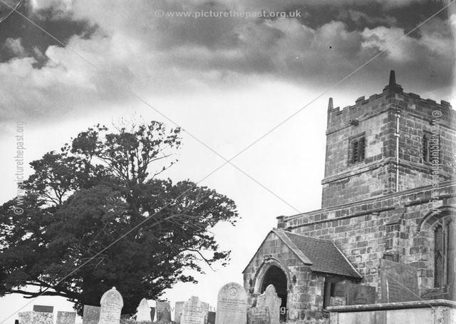 The yew tree, All Saints Churchyard, Muggington