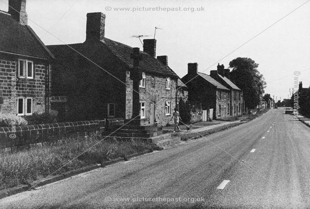 Higham Village and Cross