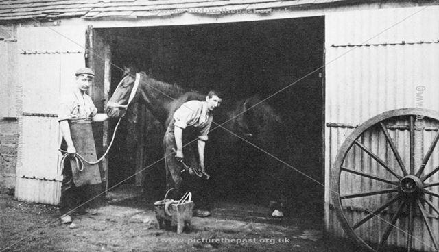 Blacksmith's Shop 1910