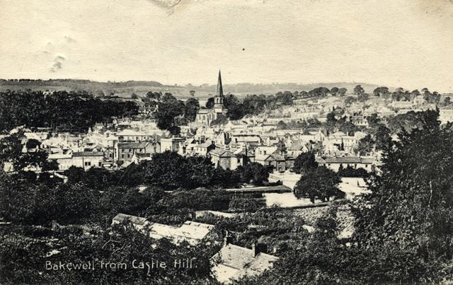 Bakewell from Castle Hill