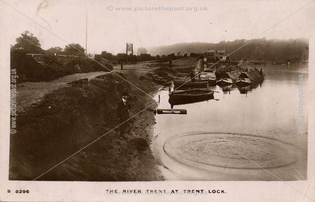 Trent Lock, Long Eaton, c 1910