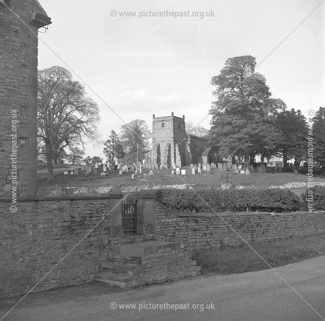 Churchyard and Church