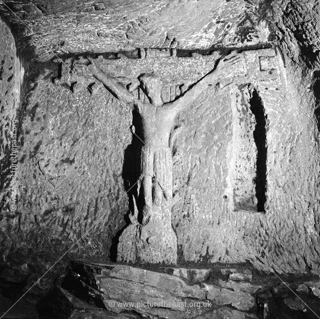 Crucifix in the Hermits Cave