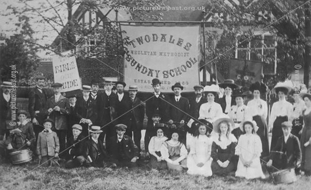 Wesleyan Sunday School Parade