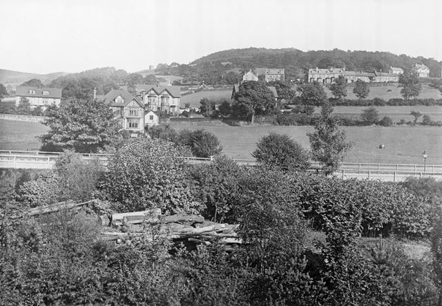 General view of Hathersage, 1919