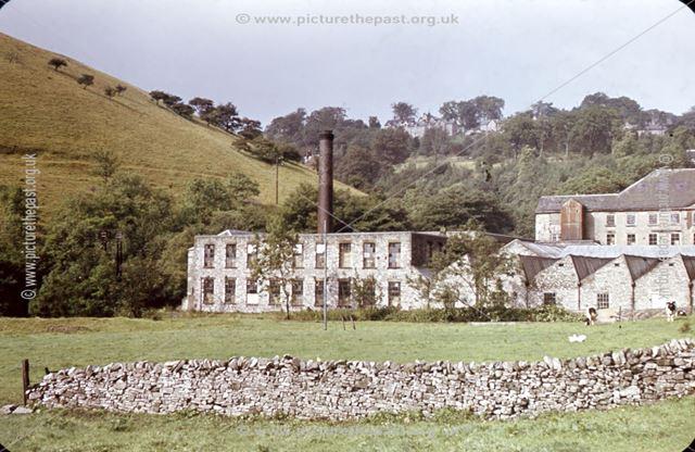 Cressbrook Mill, Monsal Dale, 1968