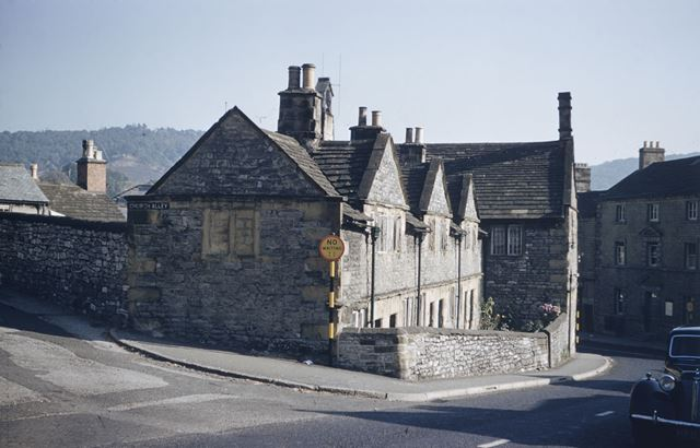 Almshouses, Church Street, Bakewell