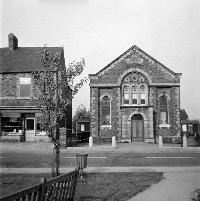 'Mount Zion' Primitive Methodist Church, North Road, Clowne, c 1975