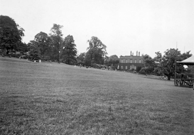 Darley Park and Hall, c 1955