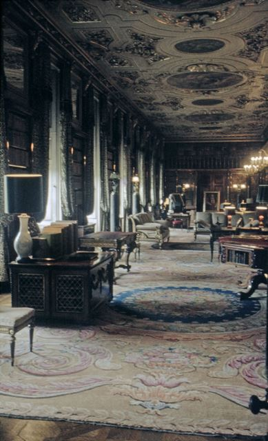 The Library, Chatsworth House Interior