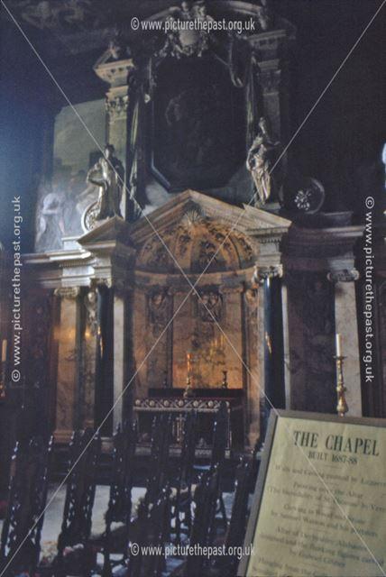 The Chapel, Chatsworth House Interior