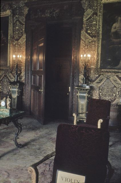State Music Room, Chatsworth House Interior