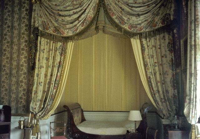 The Alcove Bedroom, Chatsworth House, c 1980s ?