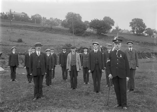 Boys from St. Andrew's Home on Parade, c 1904